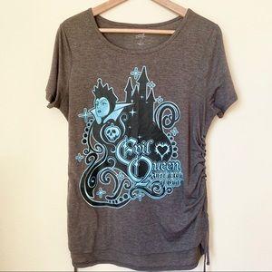 Disney NWOT Evil Queen Snow White Laced T-Shirt L